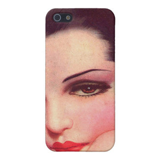 Vintage Retro Women Twenties Pin Up Vamp Covers For iPhone 5
