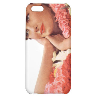 Vintage Retro Women Woman Hawaii Vacation iPhone 5C Covers