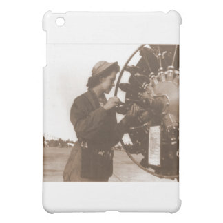 Vintage Retro Women Working in America USA iPad Mini Covers
