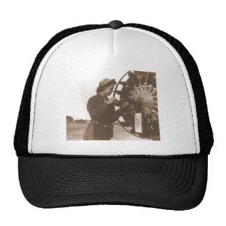 Vintage Retro Women Working in America USA Trucker Hat