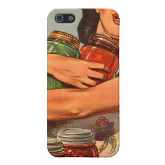 Vintage Retro Women WW2 Of Course I Can! iPhone SE/5/5s Cover