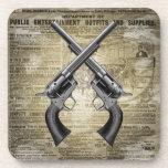 Vintage Revolvers Coasters