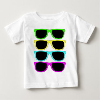 Vintage Rgb Fluo Sunglasses Baby T-Shirt