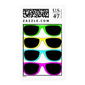 Vintage Rgb Fluo Sunglasses Postage
