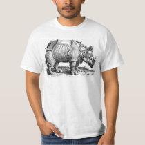 Vintage Rhino - Dürer's Rhinoceros T-Shirt