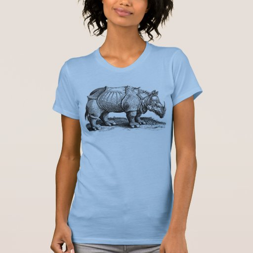 Vintage Rhino - Dürer's Rhinoceros Tee Shirt