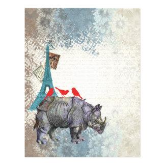 Vintage rhino flyer