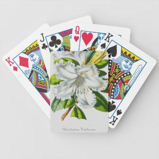 Vintage Rhododendron Botanical Card Deck