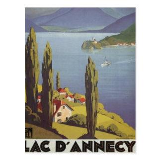 Vintage Rhône-Alpes Annecy France - Post Card