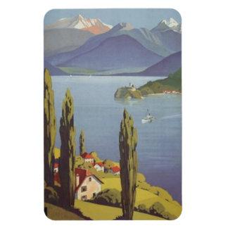 Vintage Rhône-Alpes, Annecy , France - Rectangular Photo Magnet