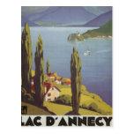Vintage Rhône Alpes, Annecy, Francia - Tarjetas Postales