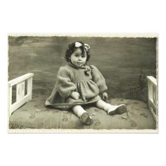 Vintage Rhotograph retro de la impresión de la Fotografía