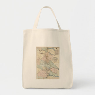 Vintage Richmond Virginia Civil War Battles (1864) Tote Bag