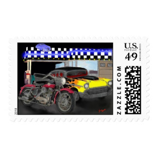 vintage rides stamp