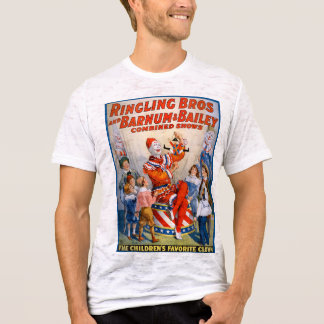Vintage Ringling Bros - Barnum & Bailey Clown Show T-Shirt