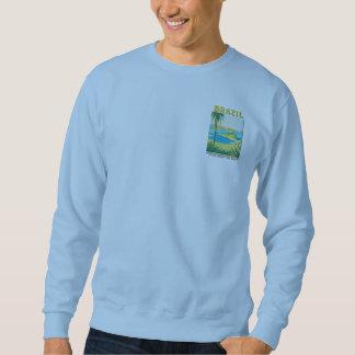 Vintage Rio Brazil Travel Poster Sweatshirt