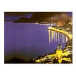 Vintage Rio De Janeiro at Night Post Cards
