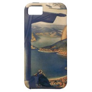 Vintage Rio De Janeiro, Christ the Redeemer Statue iPhone 5 Cases