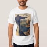 Vintage Rio De Janeiro, Christ the Redeemer Statue Tee Shirts