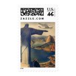 Vintage Río de Janeiro, Cristo la estatua del rede Envio