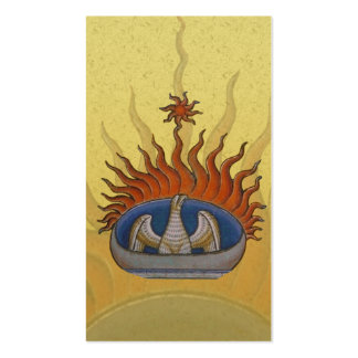Vintage Rising Phoenix Mythological Firebird Business Card