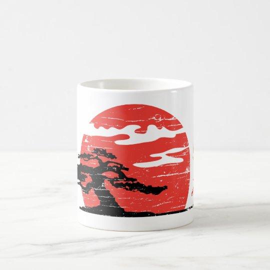 Vintage Rising Sun Coffee Mug