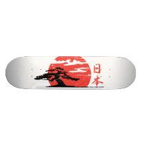Vintage Rising Sun SkateBoard