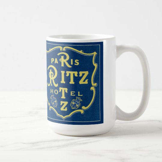 Vintage Ritz Coffee Mug