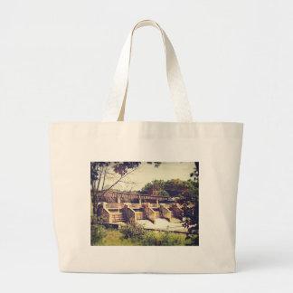 Vintage River Dam Bag