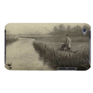 Vintage River Fishing Art iPod Case-Mate Case