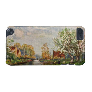 Vintage River Landscape and A Woman iPod Touch 5G Cover