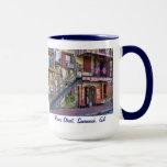 Vintage River Street Savannah Georgia Travel Photo Mug