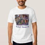 Vintage River Street Savannah Georgia Travel Photo T-Shirt