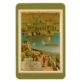 Vintage Riviera Express Berlin Amsterdam Nice Magnet