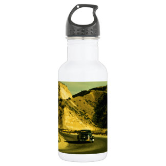 Vintage Road Trip Stainless Steel Water Bottle
