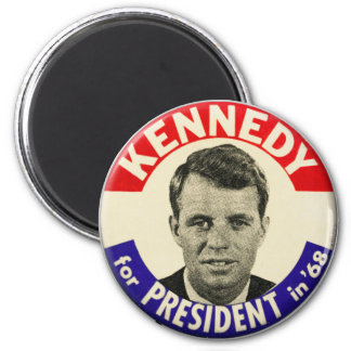 Vintage Robert Kennedy For President Pin 1968 Magnet