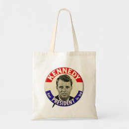Vintage Robert Kennedy For President Pin 1968 Tote Bag