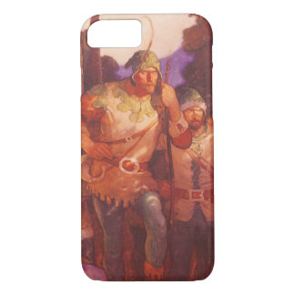 Vintage Robin Hood and His Merry Men by NC Wyeth iPhone 7 Case
