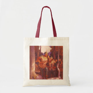 Vintage Robin Hood and His Merry Men by NC Wyeth Tote Bag
