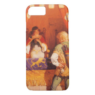Vintage Robin Hood Meets Maid Marian by NC Wyeth iPhone 8/7 Case