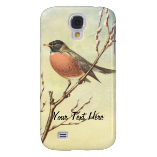 Vintage Robin iPhone 3 Speck Case Galaxy S4 Cover
