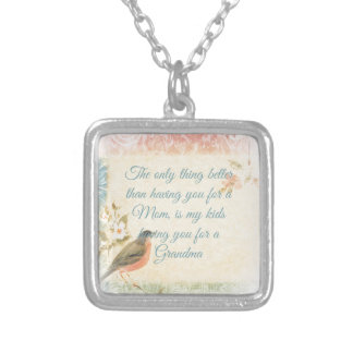 Vintage Robin Mother's Day Custom Jewelry