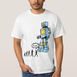 Vintage Robot Evolution Shirt