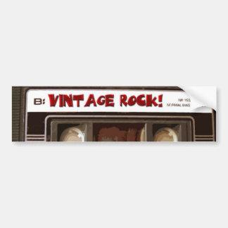 Vintage Rock Bumper Stickers
