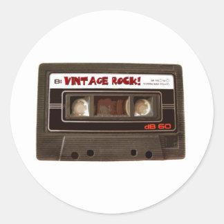 Vintage Rock Classic Round Sticker