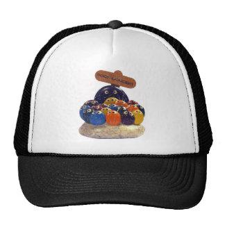Vintage Rock Concert 1970's Pet Rock Fad Hat