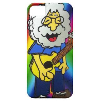 vintage rock star cartoon on iphone case