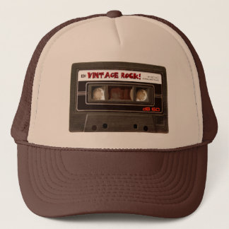 Vintage Rock Trucker Hat