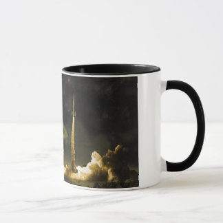 Vintage Rocket Launch Mug