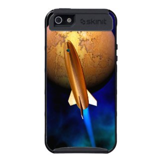 vintage rocketship cases for iPhone 5